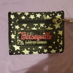 retro nwot betsey johnson BETSEYVILLE Wallet